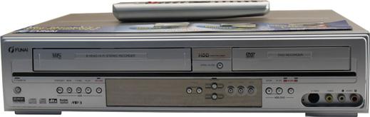 funai vhs videorekorder dvd rekorder hdd rekorder 160gb festpl 3in1 b ware ebay. Black Bedroom Furniture Sets. Home Design Ideas